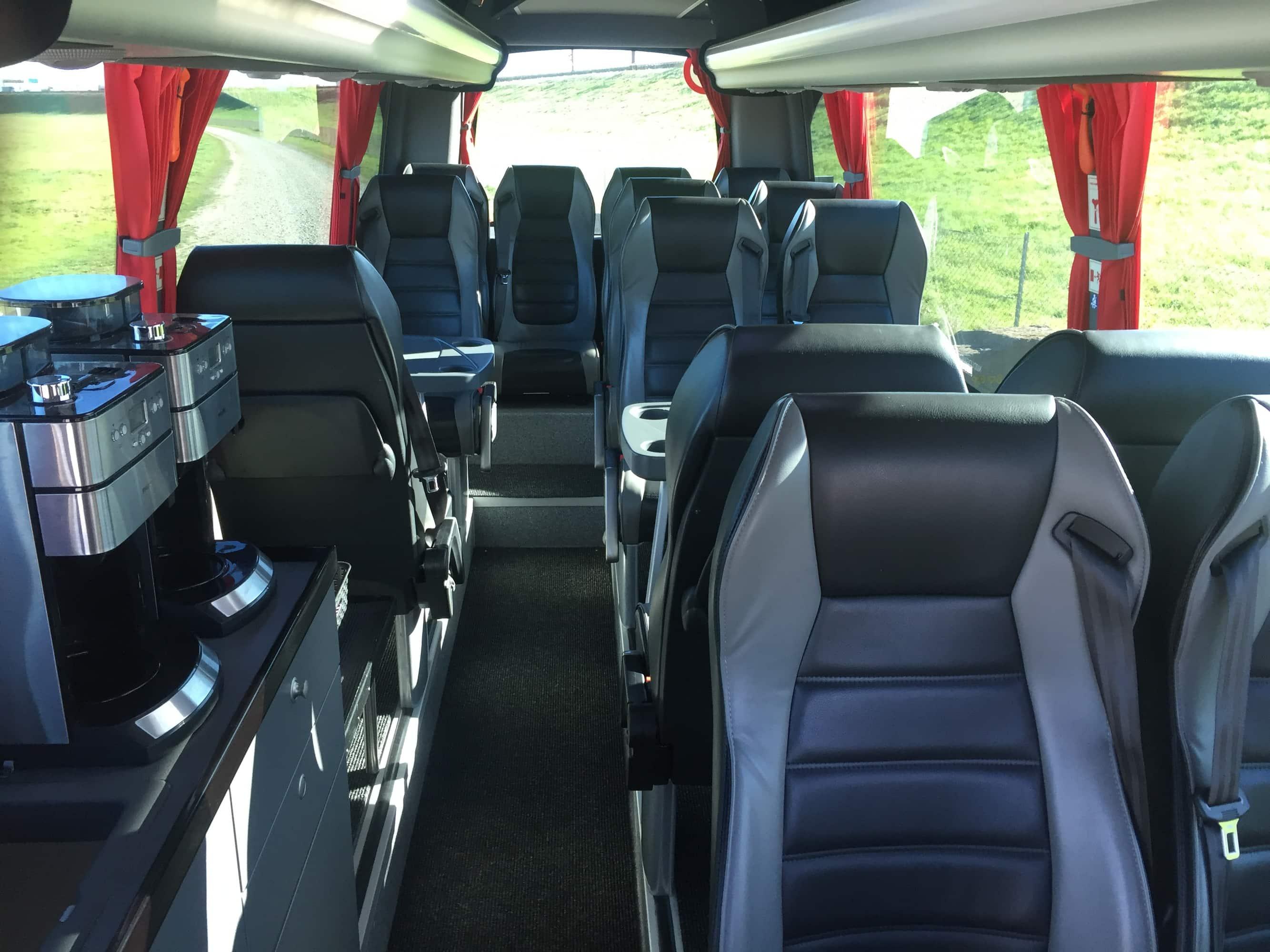 Nyborg rejser VIP bus