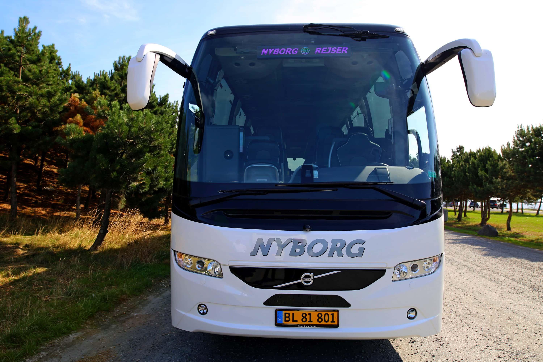 Nyborg Rejser Bus front