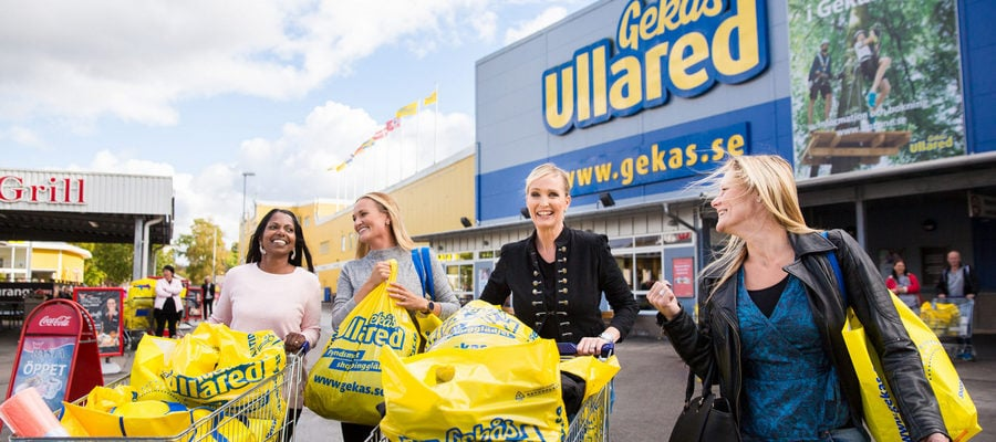 Shoppingtur til Gekås Ullared