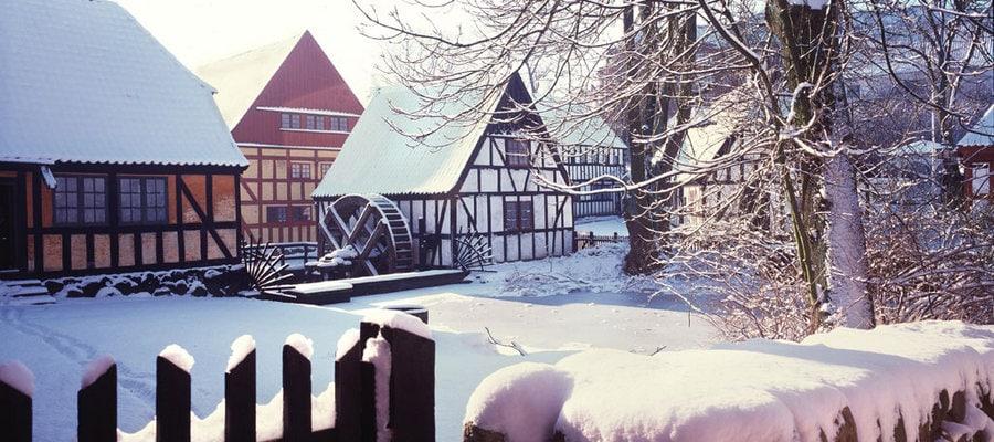 Jul i Den Gamle By i Århus
