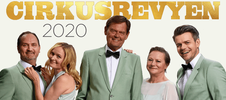 Cirkusrevyen 2020 med middag på Røde Port