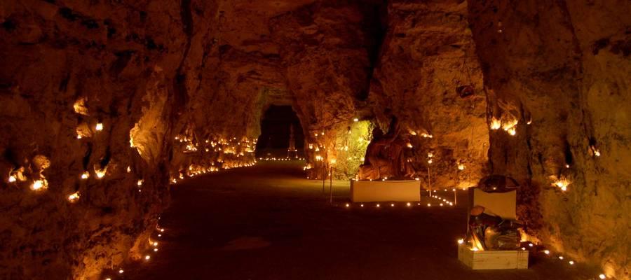 Nyborgrejser og lysfest i Thingbæk Kalkminer