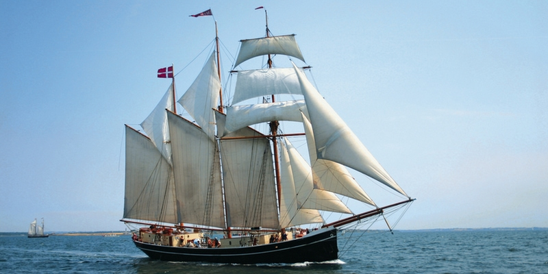 Sejltur på Limfjorden med Skonnerten Maja